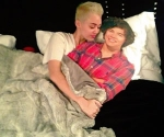 Miley Cyrus Climbs into Bed with Harry Styles