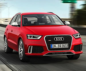 2014 Audi RS Q3 at 2013 Geneva Motor Show