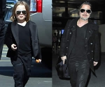 Brad Pitt and Mini Me Son Knox