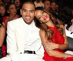 Rihanna and Chris Brown 2013