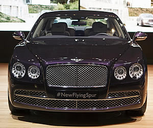2014 Bentley Flying Spur makes debut at New York International Auto Show