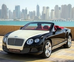 Diamond coated Bentley Continental GTC