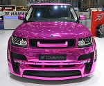 Pink Range Rover by Hamann