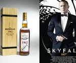 1962 Macallan Fine and Rare Bottle Signed by Skyfall Actors to be Auctioned