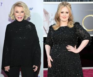 Joan Rivers said Adele is Fat