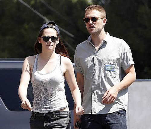 Robsten Have a Gas Together in Los Angeles