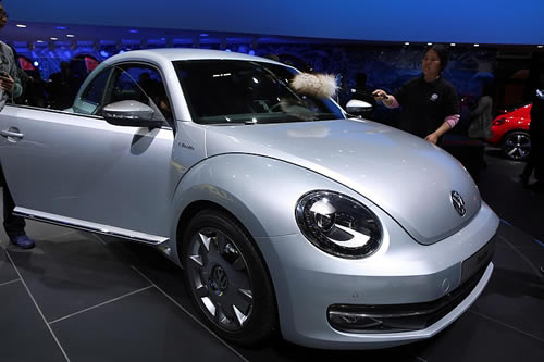 Volkswagen and Apple come together in the iBeetle