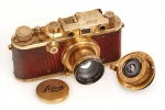 1931 Gold-plated Luxus Leica Auctioned