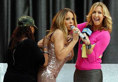 Mariah Careys Wardrobe Malfunction