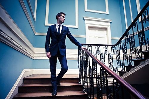 Mens Slim Fit Suits