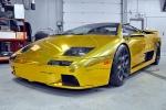 Gold-wrapped Lamborghini Diablo