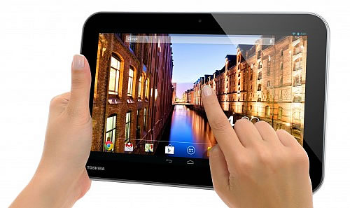 Toshiba Excites with new High-resolution Tablets