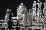 Charles Hollander Diamond Chess Set Pictures