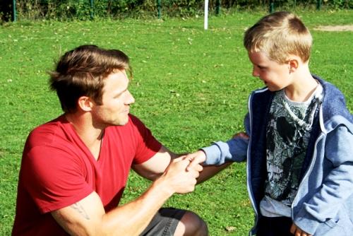 Jessie Pavelka give training to cute boy