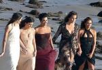 Kardashian Beach Photo Shoot