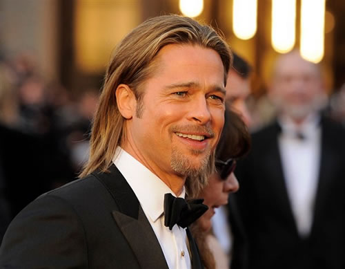 celebrity with long hair