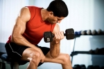 hand Weight lifting