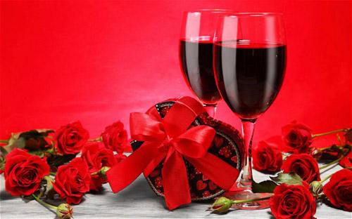 drinking Valentine