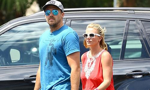 Britney Spears with David Lucado