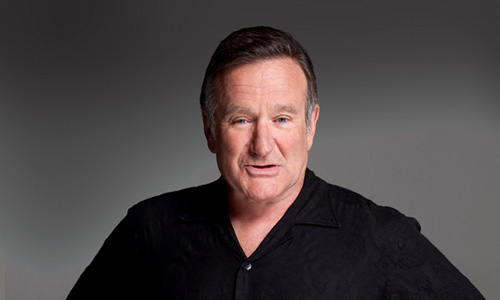 Robin Williams died