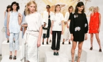 Celebrities at Cynthia Rowley Spring