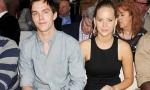 Nicholas Hoult and Jennifer Lawrence 2012