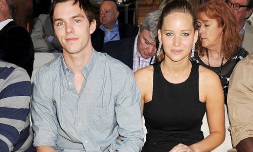 Nicholas Hoult and Jennifer Lawrence 2012