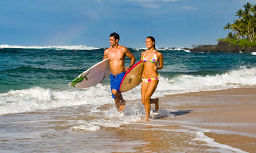 Hawaii's Surf Scene