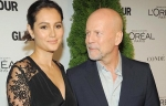 Bruce Willis and Emma Heming in New York