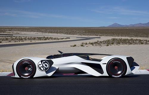 Chevrolet unveils 240mph concept car