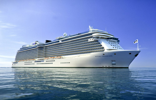 Sail Regal Princess Cruise Ship