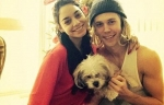 Vanessa Hudgens with Austin Butler at Christmas Morning