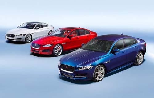jaguar xe range