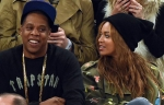 Beyoncé and Jay Z enjoying