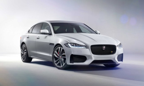 New Jaguar XF sedan Model