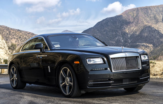 Rolls Royce Wraith review