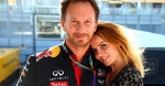 Geri Halliwell and fiancé Christian Horner