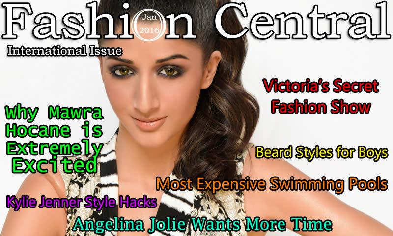 Fashion Central International Magazine Published January 2016