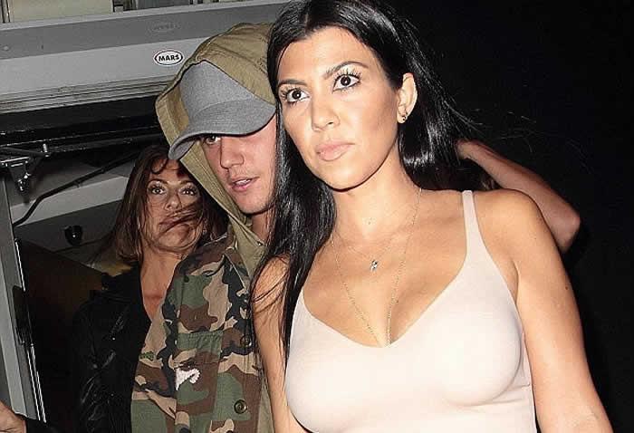 Justin Bieber on Kourtney Kardashian 'romance