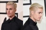 Justin Bieber's Sleek Combover GRAMMY's Look!
