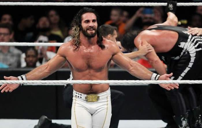 Seth Rollins Training In Wrestling Ring For WWE Return