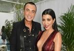 Kourtney Kardashian Oozes Sex Appeal in a Low-Cut Dress on the Red Carpet
