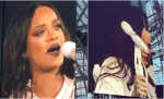Rihanna Cries During Concert