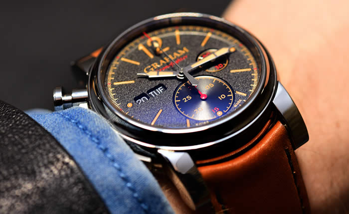 Graham Chronofighter Vintage Watch