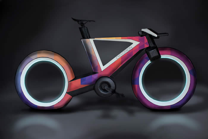 Hubless Smart Bicycle