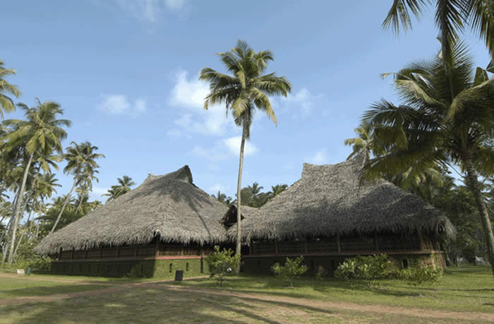 Private Traditional Kerala Cottage in Marari Beach with swimming pool