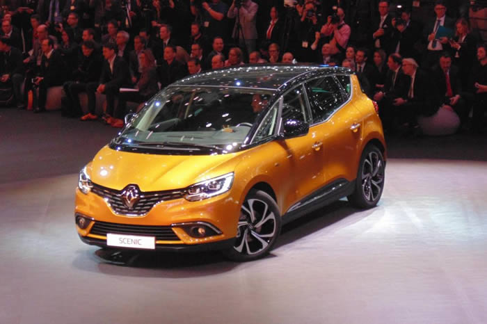 2016 Renault Scenic and Grand Scenic UK pricing revealed