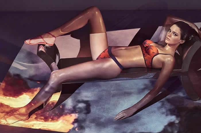 Kendall Jenner's La Perla Spring 2017 Ads, Plus Kylie Jenner for Flaunt