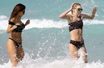 Chantel Jeffries and Sarah Snyder Vacation in Miami