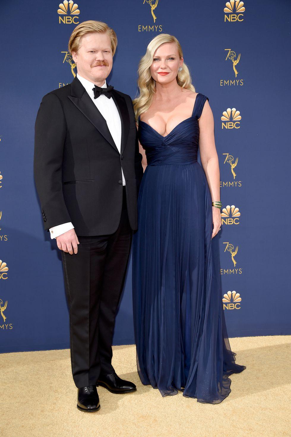 Jesse Plemons and Kirsten Dunst
